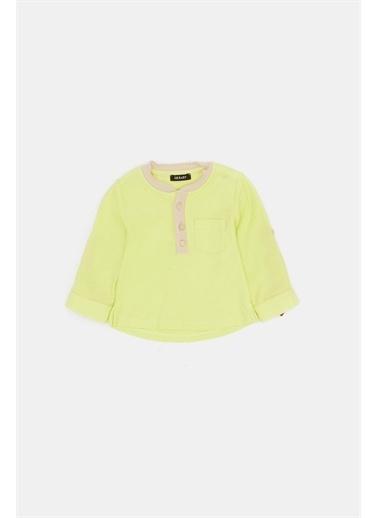 BG Baby Erkek Bebek Neon Yeşil T-Shirt Yeşil